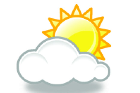 Sommeren er kommen med solskin på lommen
